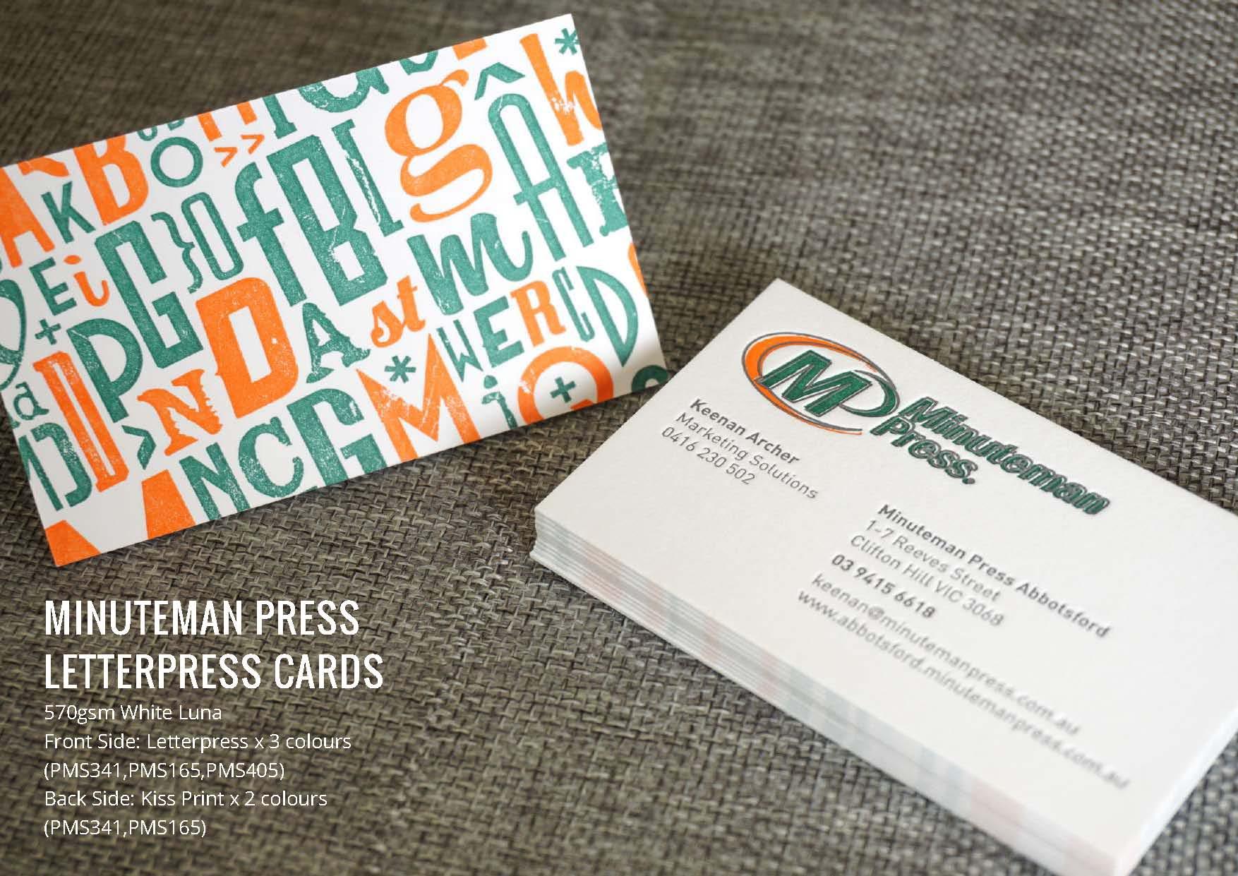 Letterpress Cards | My Fancy Cards